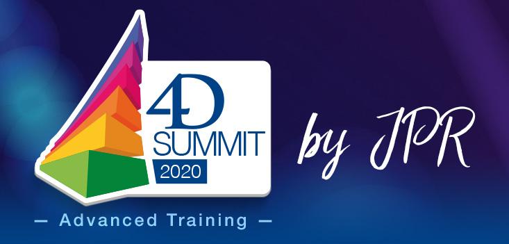 Persoonlijke uitnodiging : neem deel aan de 4D Summit 2020 - Advanced Training by JPR