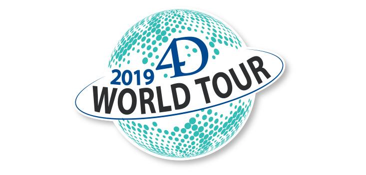 4D World Tour 2019 – De inschrijvingen zijn open